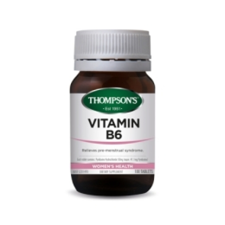 Thompsons Vitamin B6 50 mg