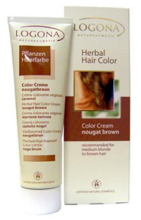 Logona Herbal Hair Colour Cream Nougat Brown