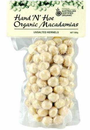 Hand and Hoe Organic Macadamia Unsalted
