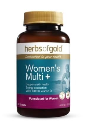 Herbs of Gold Womens Multi Plus Grapeseed 12000