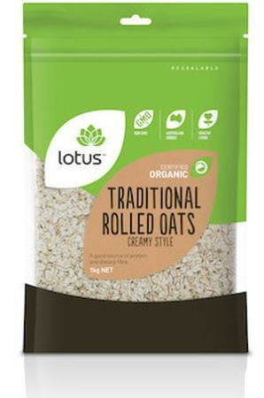 Lotus Organic Traditional Rolled Oats