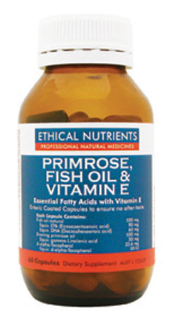 Ethical Nutrients Primrose, Fish Oil and Vitamin E