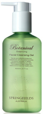 Springfields Botanical Facial Balancing Cleansing Gel
