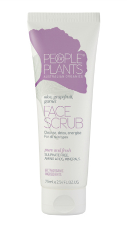 People for Plants Aloe, Grapefruit and Garnet Face Scrub