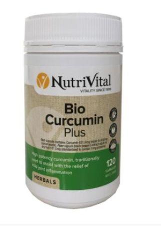 NutriVital Bio Curcumin Plus