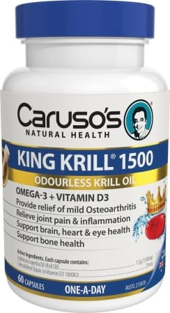 Carusos Natural Health King Krill Max 1500mg