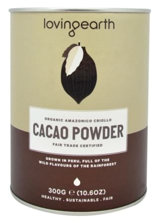 Loving Earth Raw Organic Cacao Powder