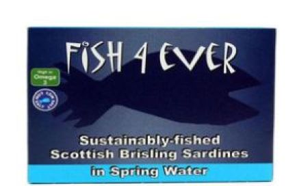 Fish 4 Ever Scottish Brisling Sardines