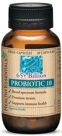 Healthy Essentials Broad Spectrum 65 Billion Probiotic 10