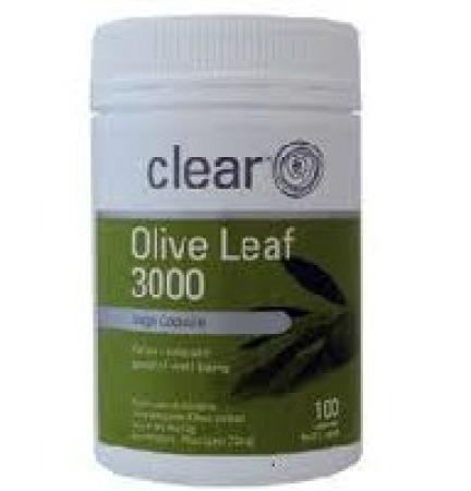 Clear Olive Leaf 3000