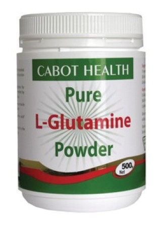 Cabot Health Glutamine Pure Powder