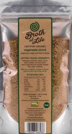 Broth of Life Vegetable Stock