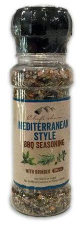 Chefs Choice Mediterranean Style BBQ Seasoning