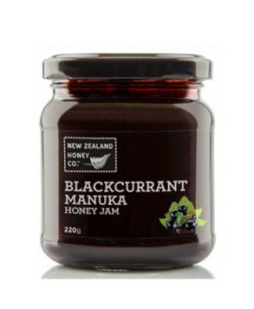 New Zealand Honey Co Blackcurrant Manuka Jam