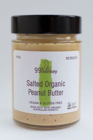 99th Monkey Salted Organic Peanut Butter