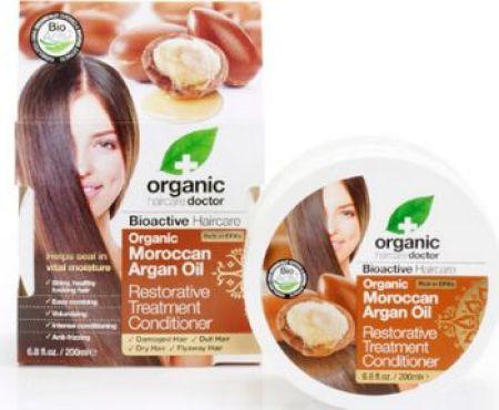 Dr Organic Moroccan Argan Oil Restorative Treatment Conditioner