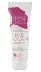 People for Plants Lemon Myrtle, Camellia and Manuka Honey Hand Cream