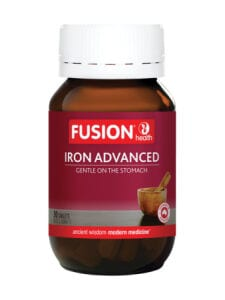 Fusion Health Organic Iron Advanced