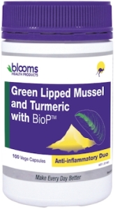 Blooms Green Lipped Mussel and Turmeric