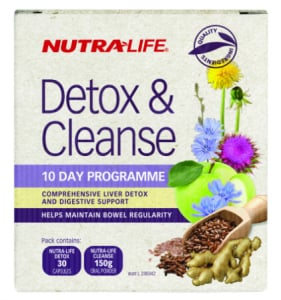 Nutra-Life Detox and Cleanse 10 Day Programme