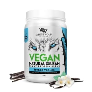 White Wolf Natural Lean Vegan Protein Blend