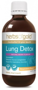 HERBS OF GOLD LUNG DETOX