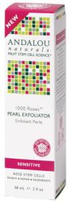 Andalou Naturals 1000 Roses Pearl Exfoliator