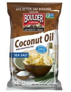Boulder Canyon Coconut Oil Kettle Chips