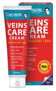 Carusos Natural Health Veins Care Cream