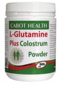 Cabot Health Glutamine Plus Colostrum Powder