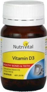 Nutrivital Vitamin D3
