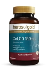Herbs of Gold Natural CoQ10 150