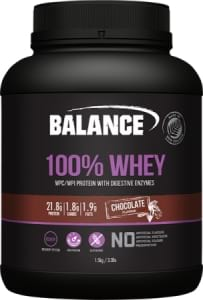 Balance 100 Percent Natural Whey