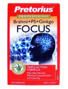 Pretorius Brahmi plus FOCUS