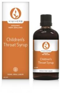 Kiwiherb Childrens Throat Syrup