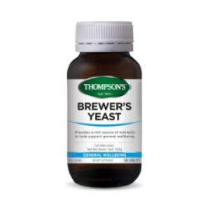 Thompson`s Brewer`s Yeast 500 mg
