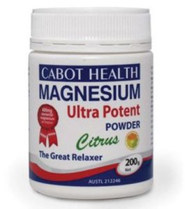 Cabot Health Magnesium Ultra Potent Powder