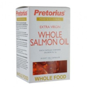 Pretorius Extra Virgin Whole Salmon Oil