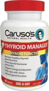 Carusos Natural Health Thyroid Manager