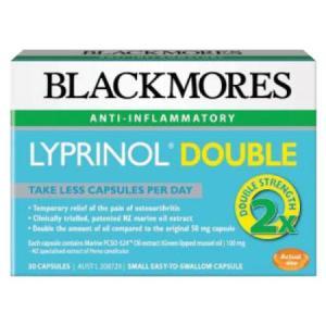 Blackmores Lyprinol Double