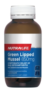 Nutra-Life Green Lipped Mussell 850mg