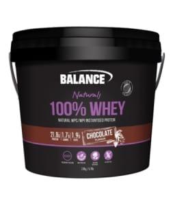 Balance 100 Percent Natural Whey 2.8Kg