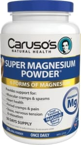 Carusos Natural Health Super Magnesium Powder