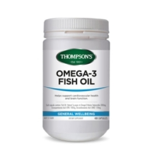 Thompsons Omega 3 Fish Oil 1000mg