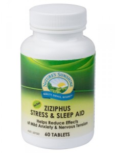 Nature`s Sunshine Ziziphus Stress & Sleep Aid