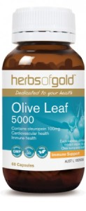 Herbs of Gold Olive Leaf 5000