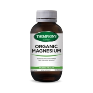 Thompson`s Organic Magnesium Tablets