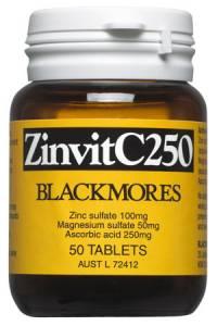 Blackmores ZinvitC250