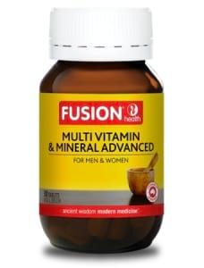 Fusion Health Multi Vitamin and Minerals Advanced