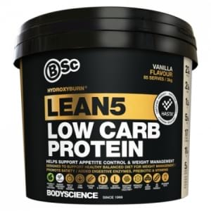 BSc Hydroxy Burn Lean 5 Low Carb Protein 3 KG